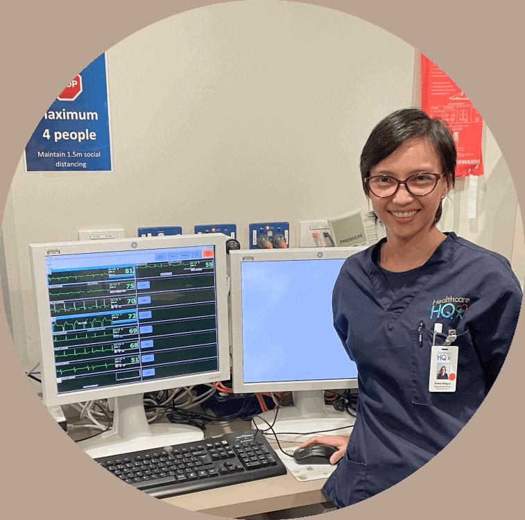 Meet our nurses - RN Arbee